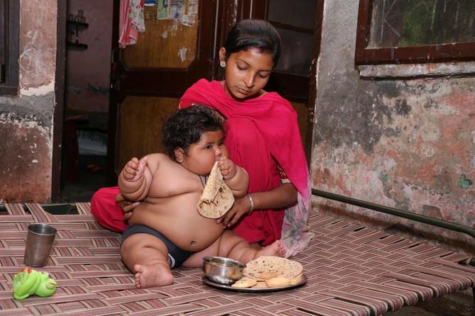 Devojčica je stalno gladna