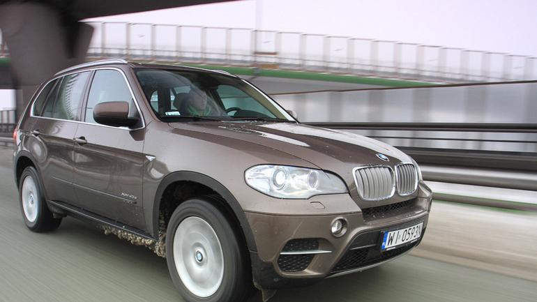 BMW X5: sportowy SUV
