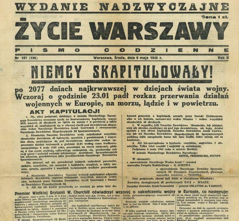 Okładka Życia Warszawy