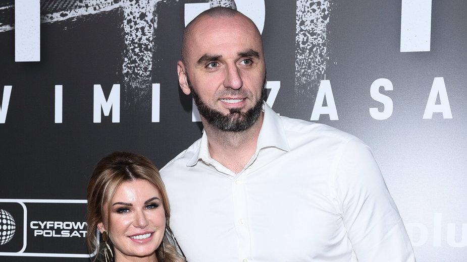 Marcin Gortat z partnerką Żanetą Stanisławską