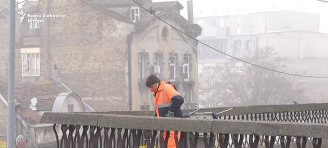 Veljko na Brankovom mostu