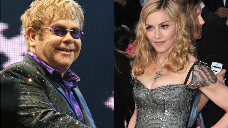 Elton John i Madonna zapomnieli o kłótni