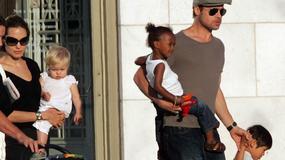 Brad Pitt potajemnie odwiedził dzieci