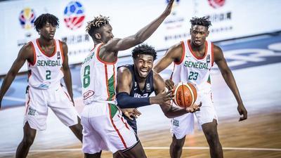 Mondial Basket U-19: Le Sénégal sorti en quart par les USA, défaite [88 - 58]
