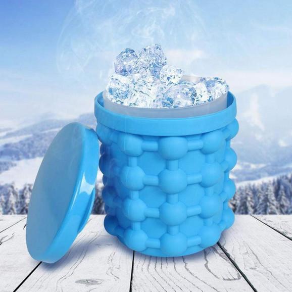 Silikonska posuda za led