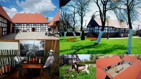 Swołowo - nowoczesny skansen koło Słupska - wieś o średniowiecznym układzie urbanistycznym