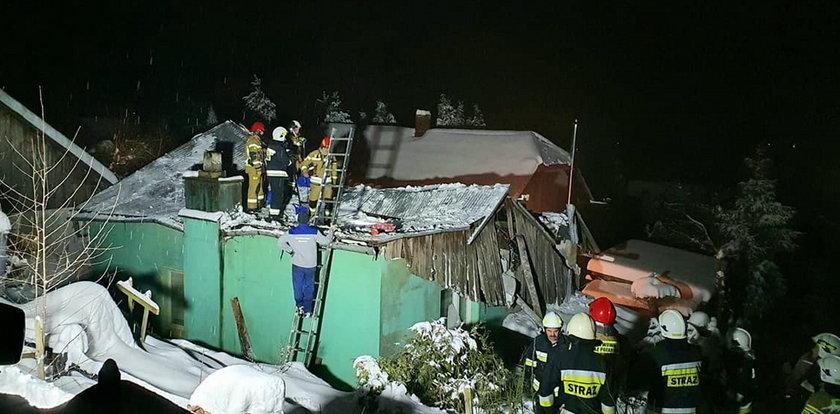 Groza na Podkarpaciu. Śnieg odebrał rodzinie dom