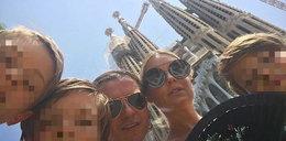 Majdanowie na wakacjach. W Barcelonie spotkała ich przykra niespodzianka