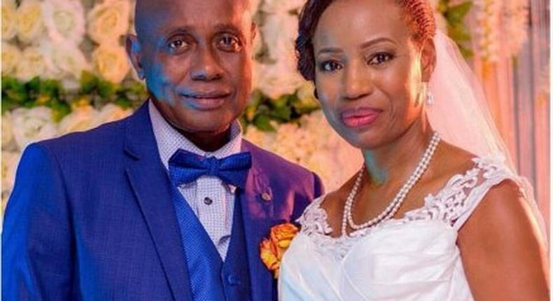 60 year old Aunty Sarah gets married in Lagos