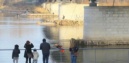 Skoczyli z mostu Śląsko - Dąbrowskiego