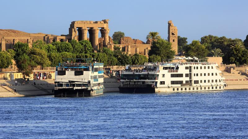 Statki wycieczkowe na Nilu, Egipt