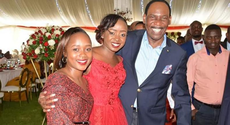 Jacque Maribe among celebrities and High profile guests who attended Dennis Itumbi's brother's wedding