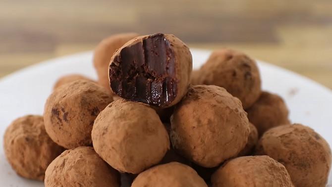 Kuglice od čokoladnog krema