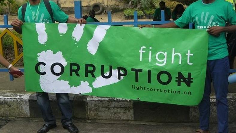 Anti-Corruption Campaign. Photo: Pulse.ng