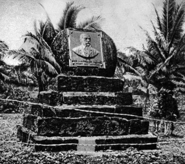 Pomnik Jana Kubarego na Ponape