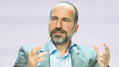 Uber CEO Dara Khosrowshahi says ride-hailing will make up only 50% of the company's business moving forward as food delivery growth surges (UBER)