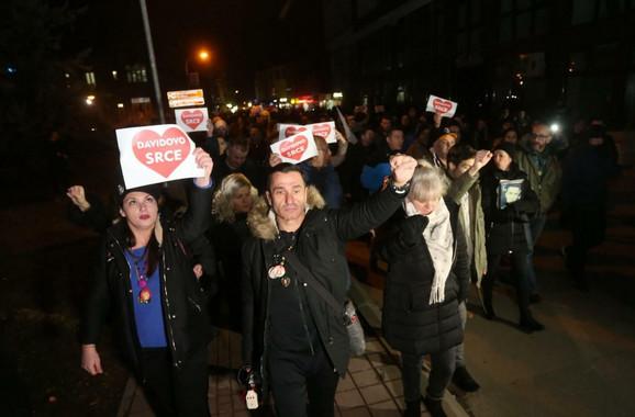 Protesti za Davida zabranjeni, građani NE ODUSTAJU
