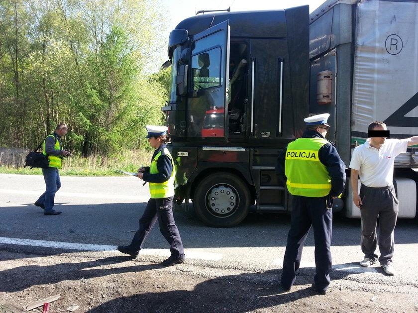 Skrzyżowanie grozy w Gliwicach