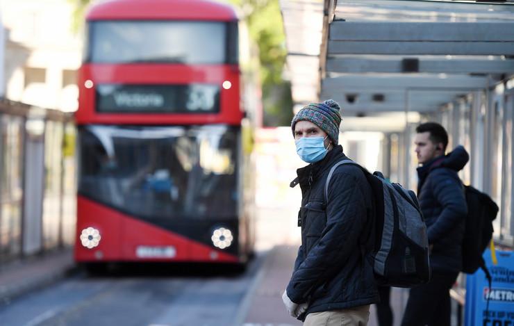 London britanija koronavirus