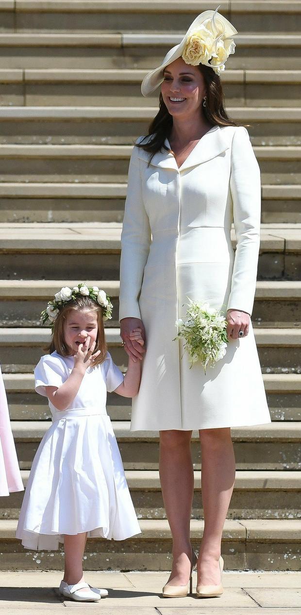 Kejt Midlton na venčanju