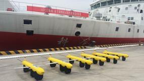 Chiny testują flotę podwodnych dronów