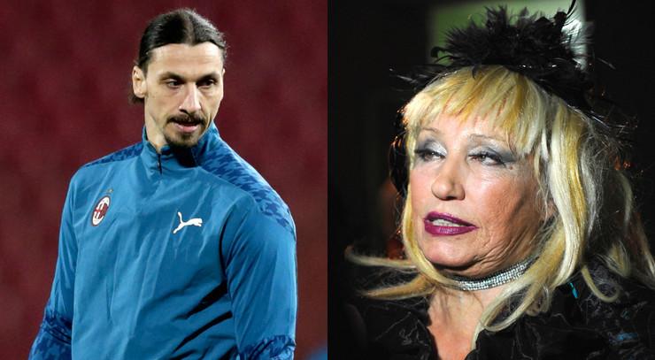 Zlatan Ibrahimović i Nada Topčagić