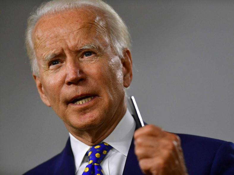 Joe Biden is besting Donald Trump in the US presidential contest (AFP)