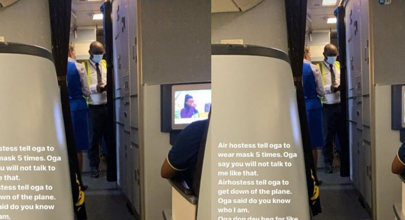 This is KLM, not Ekiti - Nigerian 'next governor' sacked from airplane for refusing to wear mask