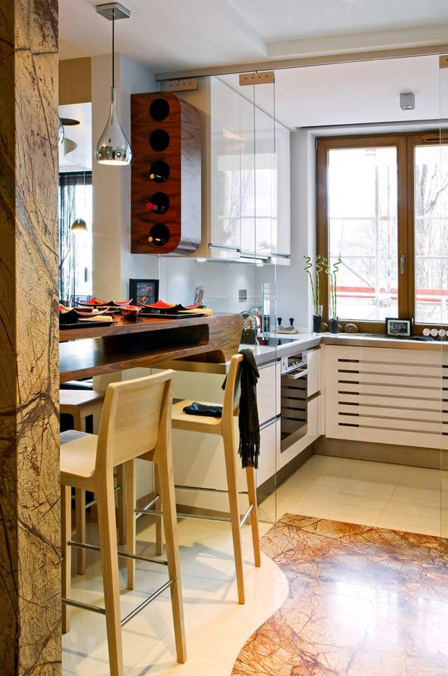 Jak oddzielić kuchnię od salonu