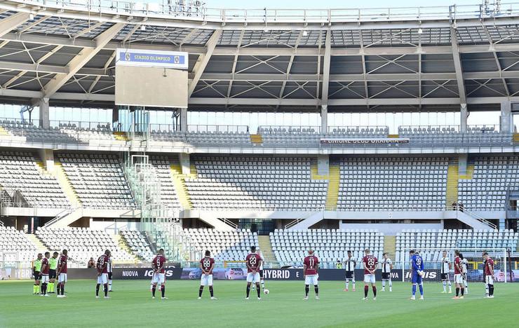 Detalj sa meča Torino - Parma