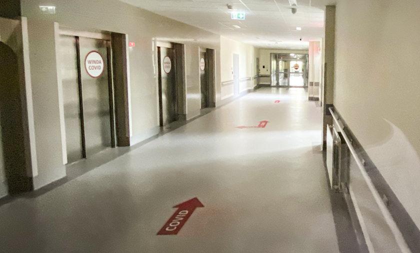 Sprawdziliśmy, co dzieje się aktualnie w środku szpitala