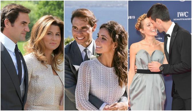 Žene najuspešnijih tenisera