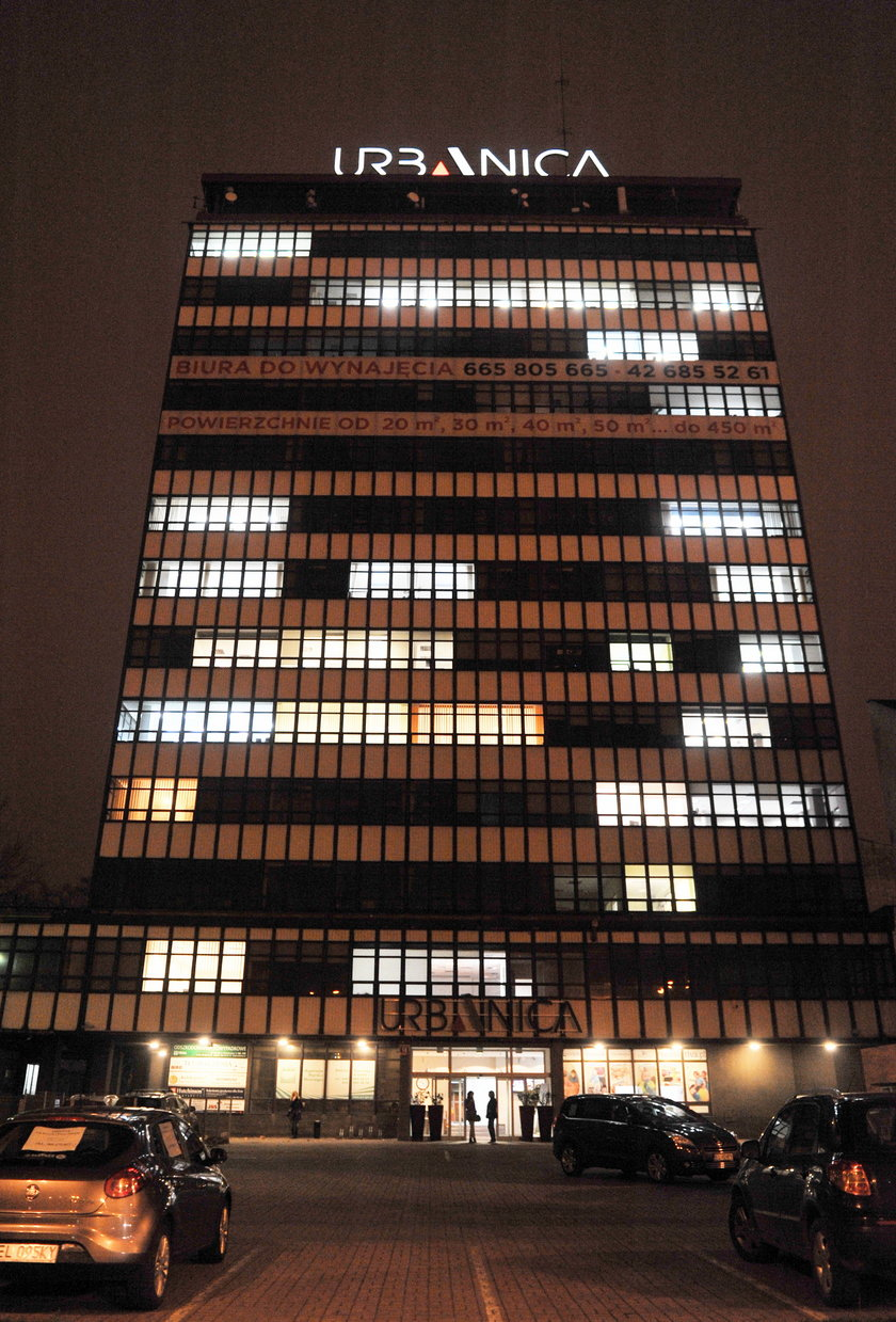biurowiec w Łodzi