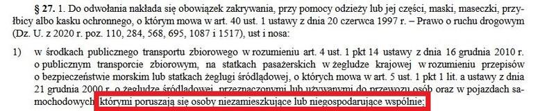 Rozporządzenie z 9 października 2020 r