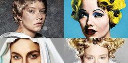 Niezwykłe twarze znanej polskiej aktorki