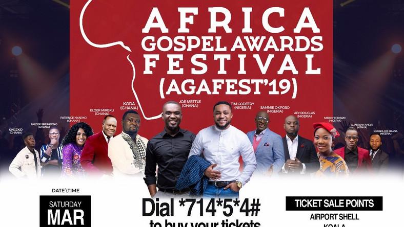 2019 Africa Gospel Awards Festival tickets out - Pulse Ghana