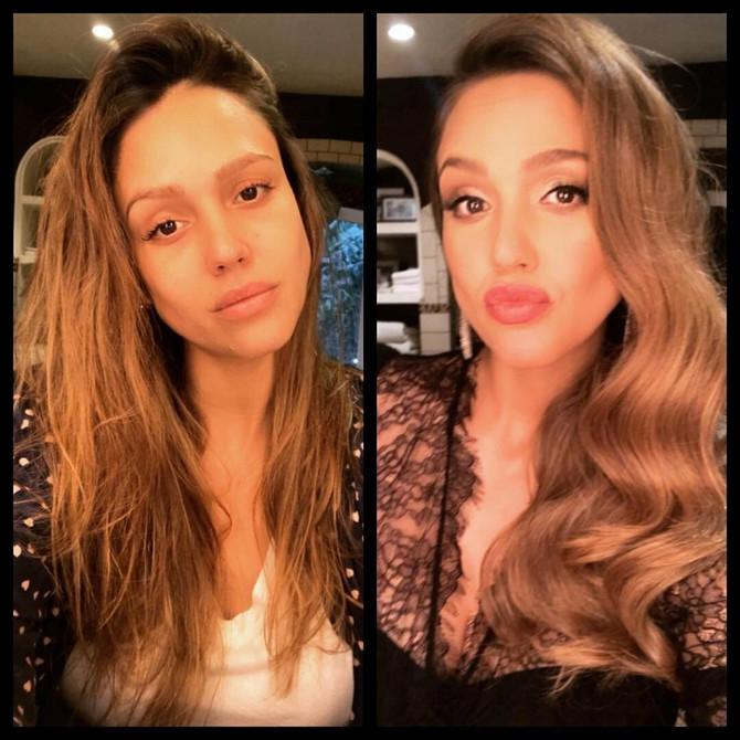 Džesika pre i posle sređivanja