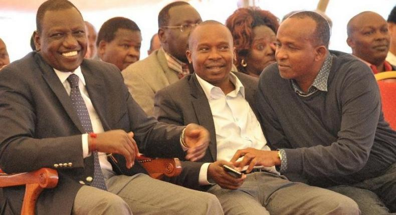 William Ruto, Kithure Kindiki and Aden Duale