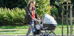Stylowa Socha z córką na spacerze