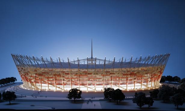 Stadion Narodowy - makieta Fot. NCS/J.Kośnik, NCS.