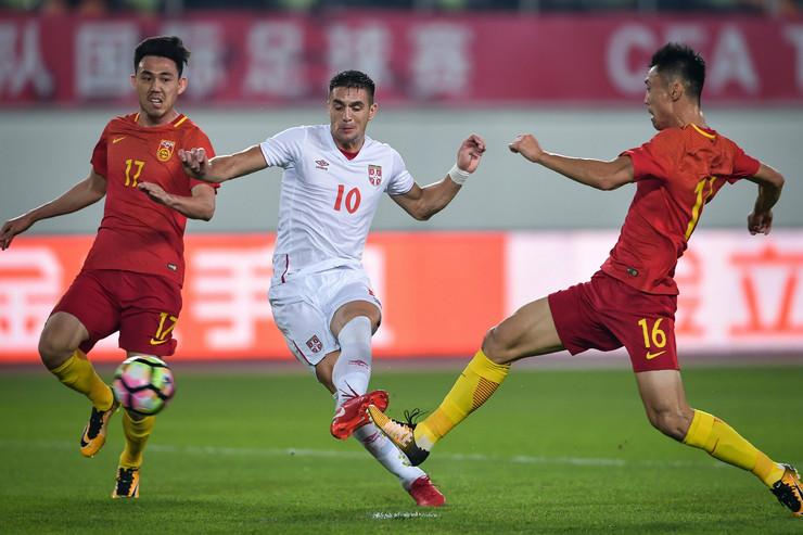 Fudbalska reprezentacija Kine, Fudbalska reprezentacija Srbije