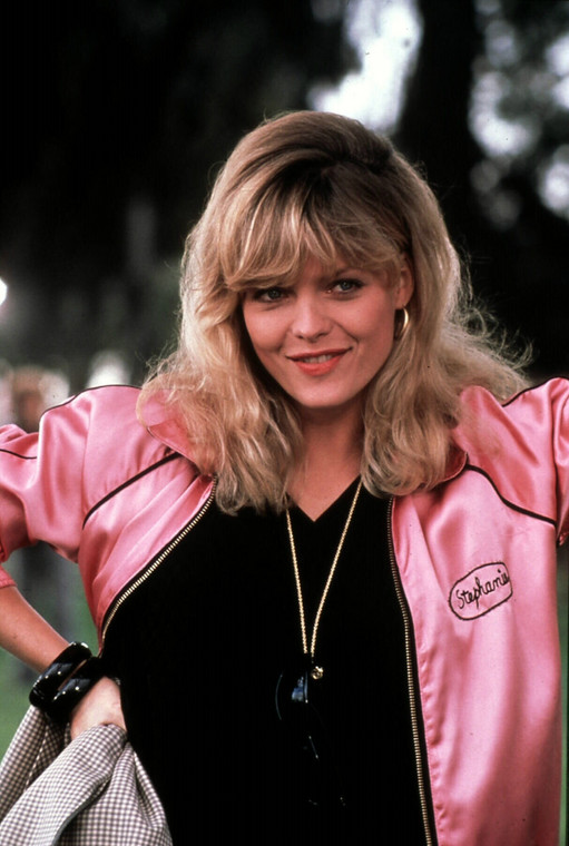 "Michelle Pfeiffer w filmie ""Grease 2"""