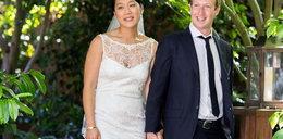 Bajkowy ślub szefa facebooka! Jego żona bardzo schudła? FOTO