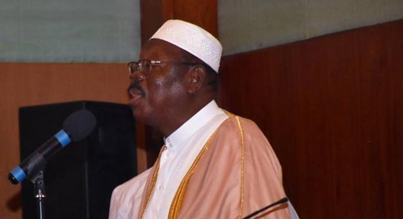 Chairman of Pilgrimage Affairs Office of Ghana, Sheikh I.C. Quaye
