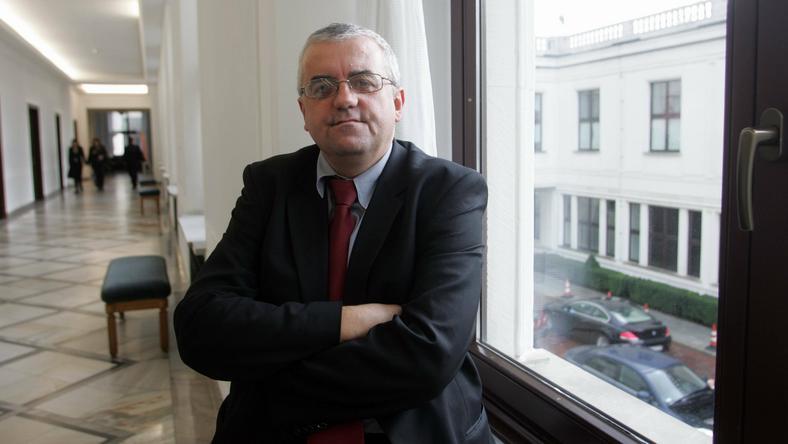Adam Lipiński, fot. Wojciech Olkuśnik / AG