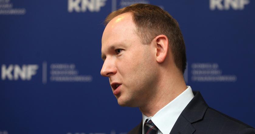 Marek Chrzanowski jest nowym szefem KNF. Kieruje nią od października 2016 r.