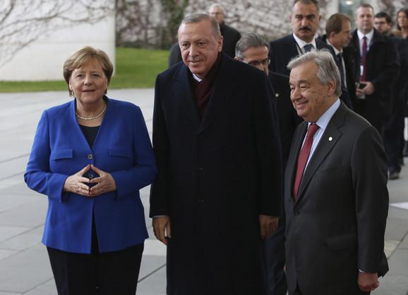 Konferencija o Libiji u Berlinu