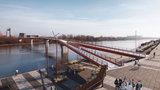 Będzie kładka dla pieszych i rowerzystów. Pierwszy taki most przez Wisłę