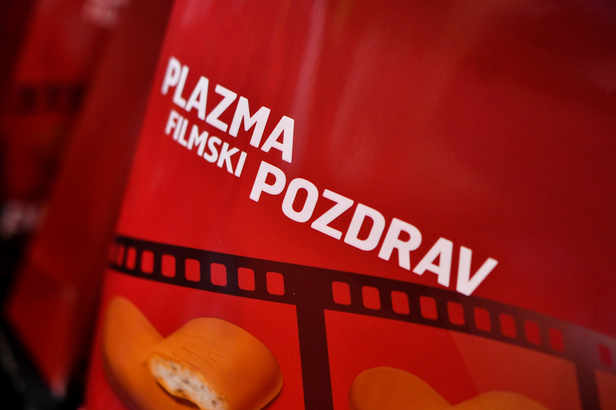 PLAZMA FILMSKI POZDRAV IZ SARAJEVA Brend Plazma srebrni sponzor 24. Sarajevo Film Festivala