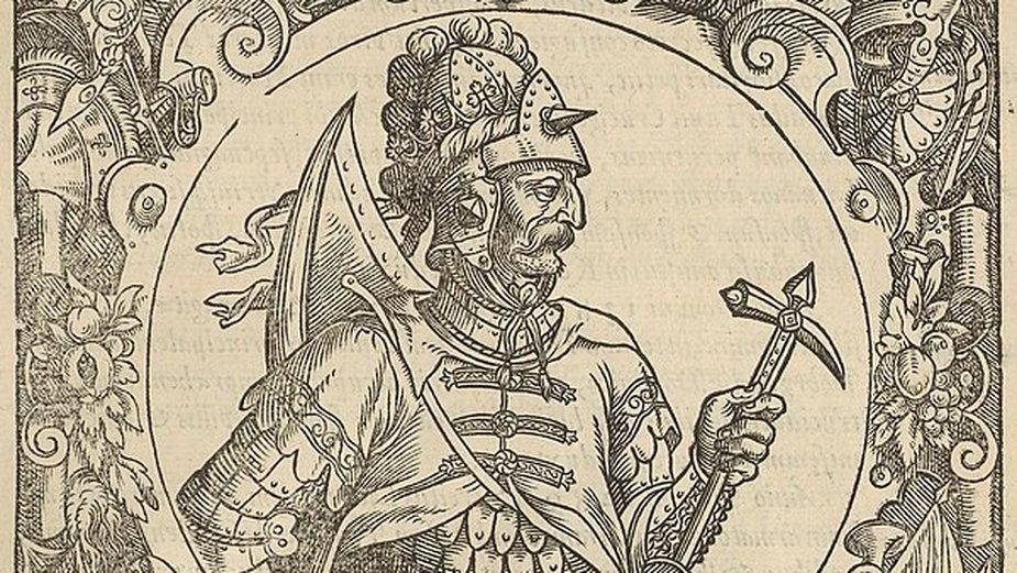 Książę litewski Witenes według Alessandro Guagniniego –  domena publiczna